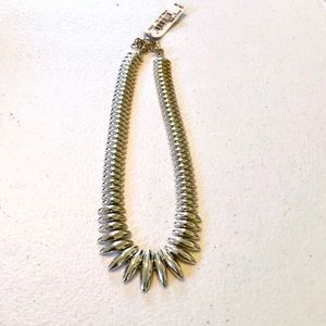 """Vintage 1980's Monet NWT Silver 16""""-18"""" Necklace"""